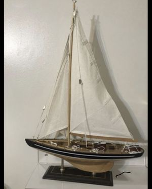 Nautical sailboat 24 inches tall for Sale in New York, NY
