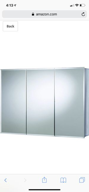 "*Brand New* Croydex Burwell 30""x48"" triple door tri view mirrored cabinet for Sale in Dublin, OH"