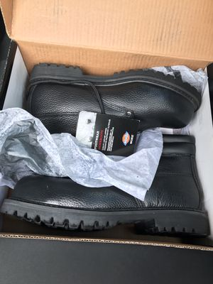 Steel toe work boots size 10.5 for Sale in San Diego, CA