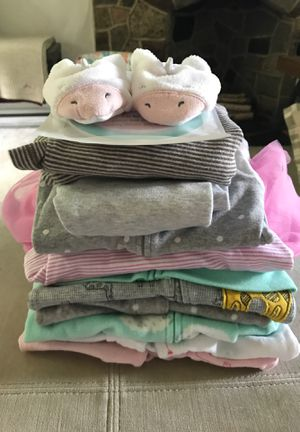 Baby Girl Clothes, 0-6 Months for Sale in Pittsburgh, PA
