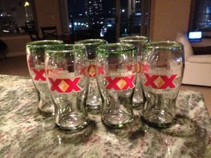 Dos Equis glasses for Sale in Tampa, FL