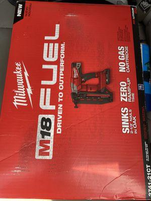 Milwaukee nail gun for Sale in Cypress, CA