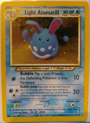Pokemon Light Azumarill for Sale in Haines City, FL