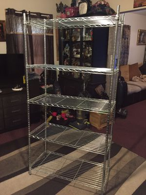 5 shelves baker rack in great condition for Sale in Westhampton, MA