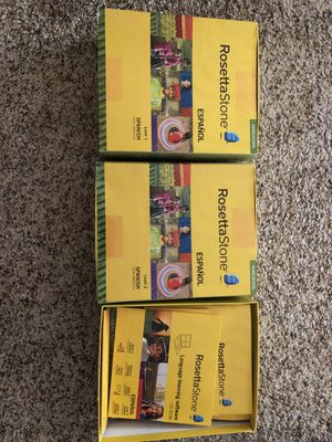 Rosetta Stone Spanish homeschool for Sale in Nuevo, CA