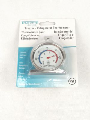Taylor TruTemp Freezer - Refrigerator Thermometer Durable Stainless steel for Sale in Fontana, CA