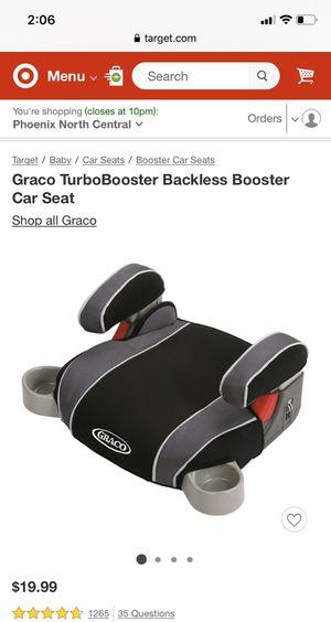 Graco booster seat for Sale in Phoenix, AZ