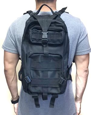Brand NEW! Handy Black Backpack For Hiking/Tarveling/Biking/Camping/Outdoors/Father's Day Gift/Gym $26 for Sale in Carson, CA