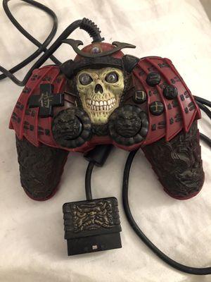 Samurai Skull rare PlayStation 2 controller for Sale in Pompano Beach, FL
