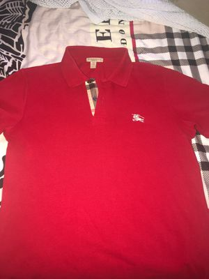 Burberry polo size small for Sale in Upper Marlboro, MD
