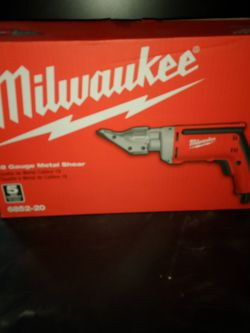 Milwaukee 18 Gauge Metal Shear for Sale in Beaverton,  OR