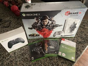 Xbox One X 1TB Gears of War Edition with Extras for Sale in Oak Point, TX