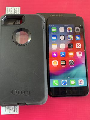 Unlocked iPhone 7 Plus 32GB Black with Otterbox for Sale in San Jose, CA