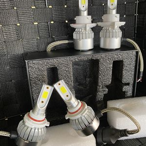 Led Headlights With Free License Plate Lights //luces Led for Sale in Ontario, CA
