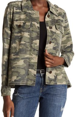 New Lucky Brand women's XL camo shirt jacket for Sale in Silver Spring,  MD