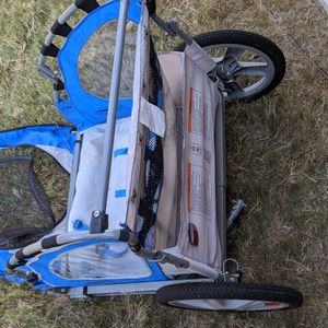 InStep bike trailer! In great condition but seat belt straps broke. Asking $85 for Sale in Frisco, TX
