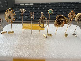 Lot Vintage Stick Pins for Sale in Douglasville,  GA