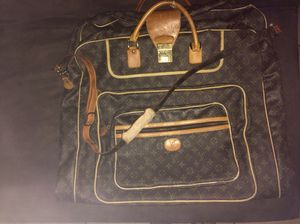 LV Luggage/ Garment Bag/ Authentic for Sale in Dallas, TX