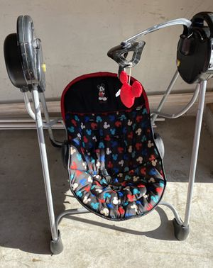 Disney Mickey Mouse swing for baby for Sale in Cleveland, OH
