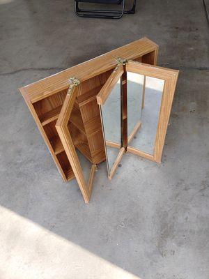 Very nice bathroom gabinet 3 mirror doors!!! for Sale in Denver, CO