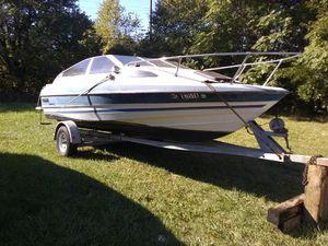Bayliner Capri boat and trailer for Sale in Roseville, MI