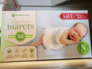 Diapers New born size for Sale in Arlington, TX