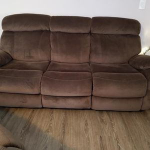 3-piece Reclining Sofa, Loveseat & Chair *Like New* for Sale in Vancouver, WA
