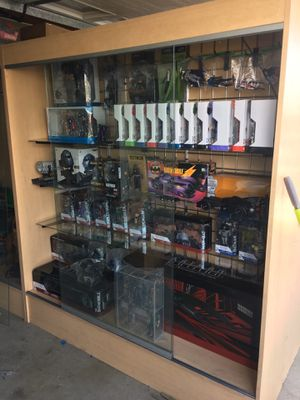 Display cases for sale for Sale in Fontana, CA