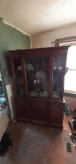 Antique china cabinet for Sale in Lubbock, TX