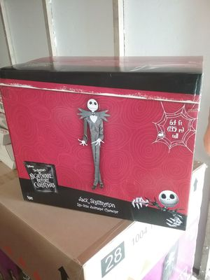 Halloween jack skellington animated gemmy decoration prop for Sale in Norwalk, CA