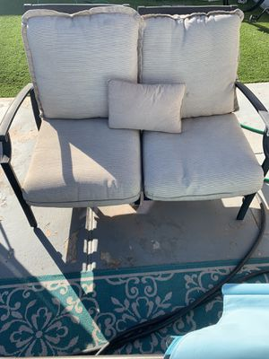 Outdoor love seat and couch for sale for Sale in Scottsdale, AZ