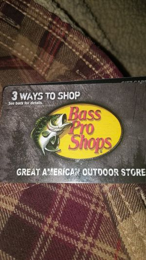 Bass pro shops gift 50$ for Sale in Manteca, CA