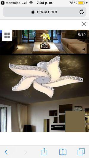 Elegant Crystal Chandelier Modern 5 Ceiling Light Lamp Pendant Fixture Lighting price firm $100 for Sale in Hayward, CA