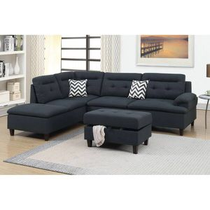Free delivery within 15 miles! Sectional with ottoman for Sale in Phoenix, AZ