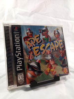 Ape Escape for Ps1 for Sale in Phoenix, AZ