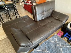 Faux Leather Futon for Sale in Altamonte Springs, FL