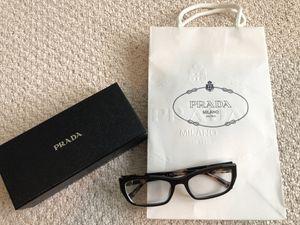 Prada womens eyeglass frames - size 52-18 for Sale in Carlsbad, CA