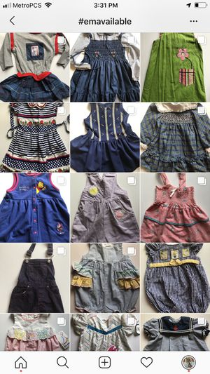 Vintage kids clothes girl dress romper toddler for Sale in Pompano Beach, FL