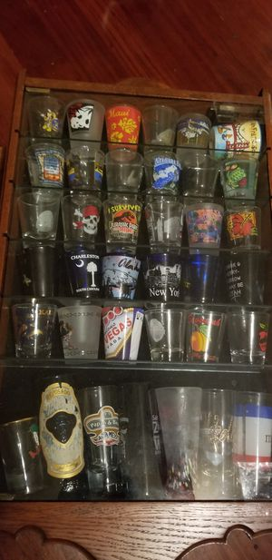 Collection of shot glass for Sale in Los Angeles, CA