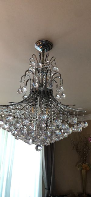 Crystal chandelier - One day sale for Sale in Los Angeles, CA
