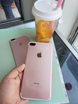 IPhone 7 plus 128gb unlocked each for Sale in Everett, MA