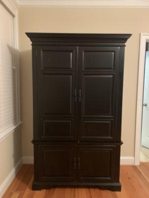Solid wood desk/armoire. for Sale in Midlothian, VA