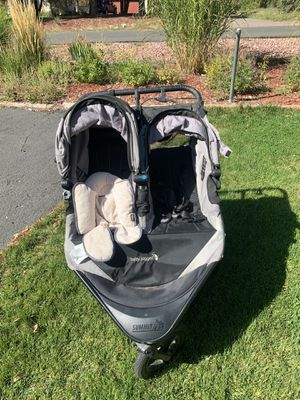 Double baby jogger stroller summit x3 for Sale in Denver, CO