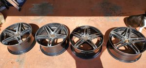 tis 536mb tis36 machined black custom rims wheels for Sale in Lehigh Acres, FL