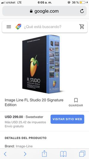 FL Signature any DAW/ software you need for Sale in Fresno, CA