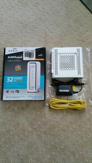 Motorola SB6190 Cable Modem 32x8 Gigabit Speed for Sale in Alexandria, VA