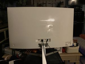 "32"" curved Samsung monitor for Sale in Etiwanda, CA"
