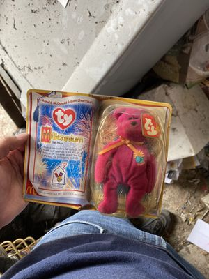TY millennium toy beanie bear 1999 for Sale in Los Angeles, CA