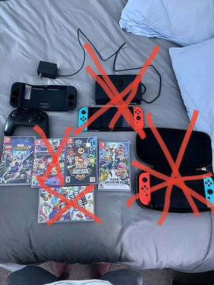Switch games and controller for Sale in Chula Vista, CA