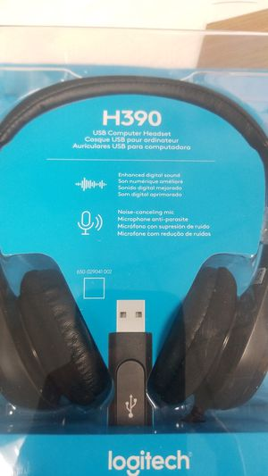 Logitech H390 USB COMP HEADSET for Sale in San Diego, CA